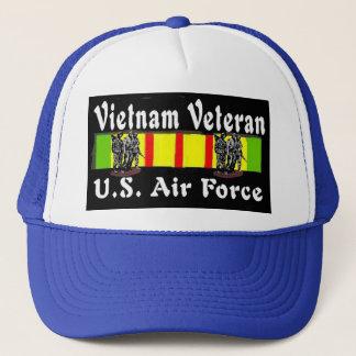 AIR FORCE VIETNAM VETERAN TRUCKER HAT