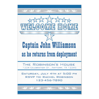 Air Force Welcome Home Invitation