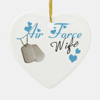 Air Force Wife Ornament