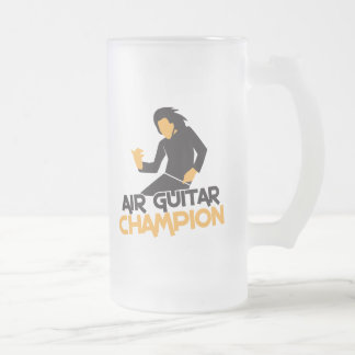 Air Guitar Champion design Mugs