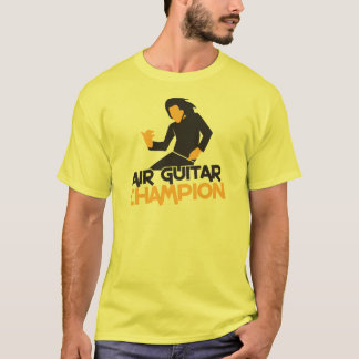 Air Guitar Champion design T-Shirt