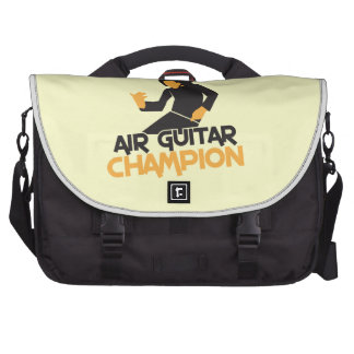 Air guitar Champion NP Laptop Messenger Bag