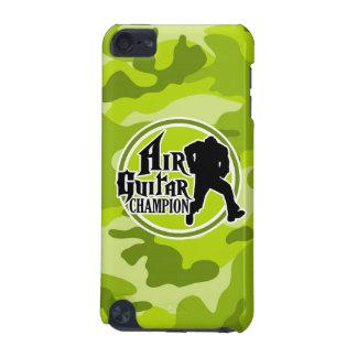 Air guitar drôle camo vert clair camouflage