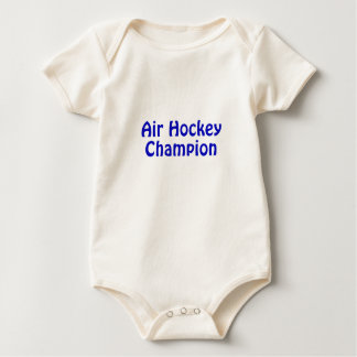 Air Hockey Champion Baby Bodysuit