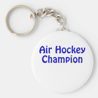 Air Hockey Champion Keychain
