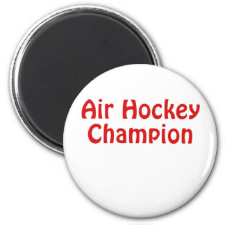Air Hockey Champion Magnet
