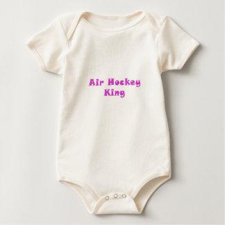 Air Hockey King Baby Bodysuit