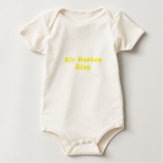 Air Hockey King Baby Bodysuit