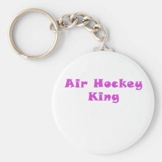 Air Hockey King Keychain
