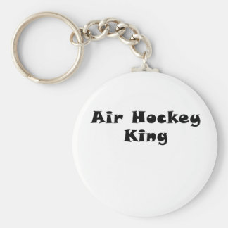 Air Hockey King Keychain