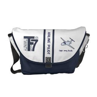Air Line Pilot Messenger Bag