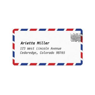 Air Mail Look