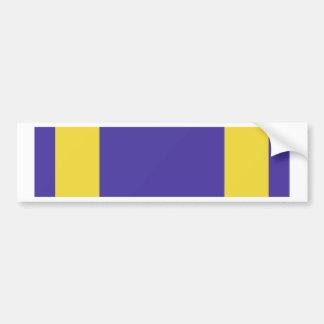 Air Medal Ribbon Bumper Sticker