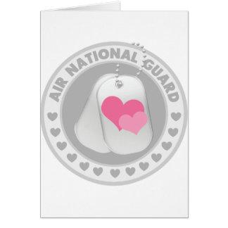 Air National Guard Love Greeting Card