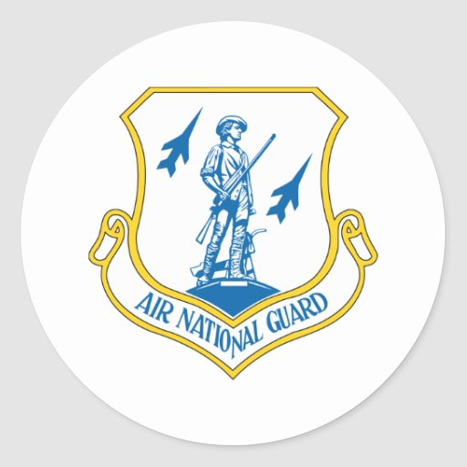 Air National Guard Stickers