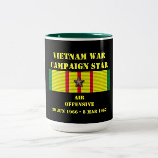 Air Offensive Campaign Two-Tone Coffee Mug