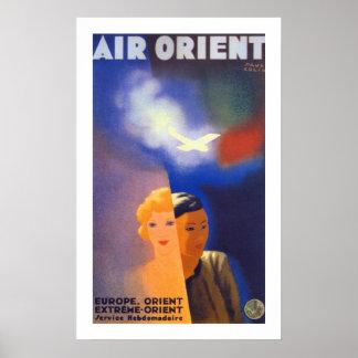 Air Orient ~ Euorpe - Orient Poster