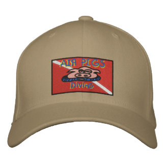 Air Pigs cap Embroidered Hats