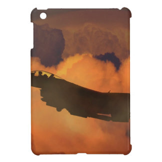 Air Plane Fighter Night Sky Moon Clouds Aircraft iPad Mini Cover