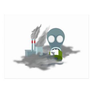 Air Pollution Postcard