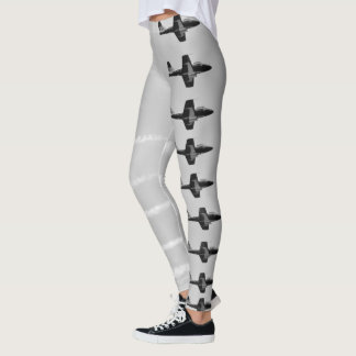 Air Show Flying in Formation Leggings