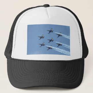 Air squadron Breitling on airshow Trucker Hat