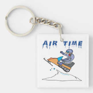Air Time 2 Double-Sided Square Acrylic Keychain