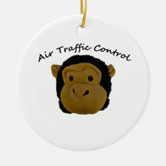 Air Traffic Control Accounts Department.Funny Gift Ceramic Ornament