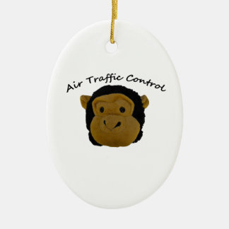 Air Traffic Control funny gifts. Ceramic Ornament