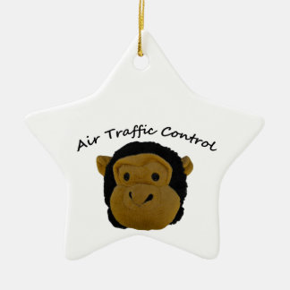Air Traffic Control Funny Gifts for Work Mates. Ceramic Ornament