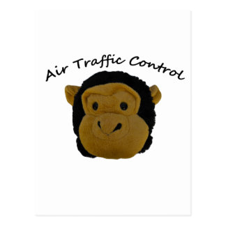 Air Traffic Control funny gifts. Postcard