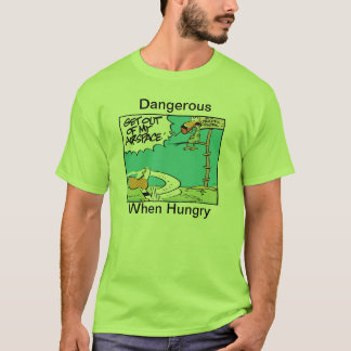 Air Traffic Control Hungry Humor T-Shirt