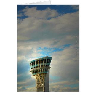 Air Traffic Control Tower Card