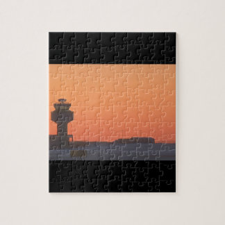 Air traffic control tower_Military Aircraft Jigsaw Puzzle