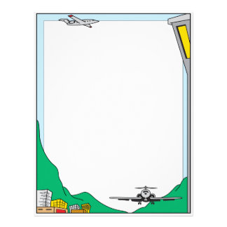 Air Travel Letterhead