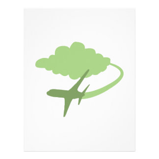 Air Travel Personalized Letterhead