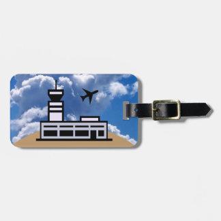 Air traveler luggage tag