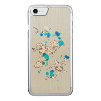 Air turtle carved iPhone 8/7 case