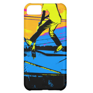 "Air Walking!""  High Flying Scooter iPhone 5C Cover"