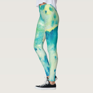Air zodiac star sign leggings