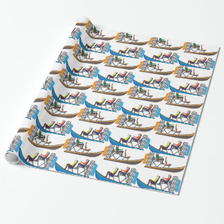 AirBoat Wrapping Paper