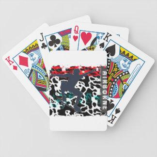 Airborne1 Poker Deck