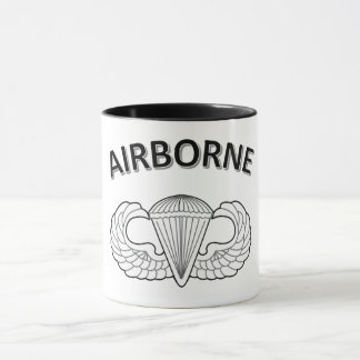 Airborne 11oz Combo Coffee Cup with Black Handle