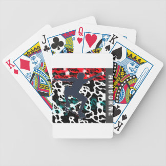 Airborne Bicycle Playing Cards
