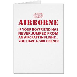 AIRBORNE CARD