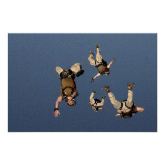 Airborne Jumpers Poster
