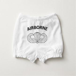 Airborne Logo Diaper Cover