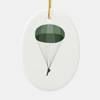 Airborne Paratrooper Ceramic Ornament
