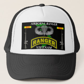 Airborne Ranger Vietnam Veteran Ball Caps