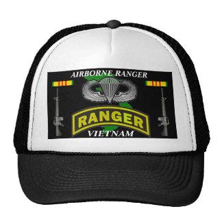 Airborne Ranger Vietnam Veteran Ball Caps Trucker Hat